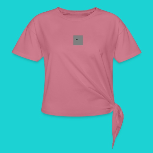 logo-png - Women's Knotted T-Shirt