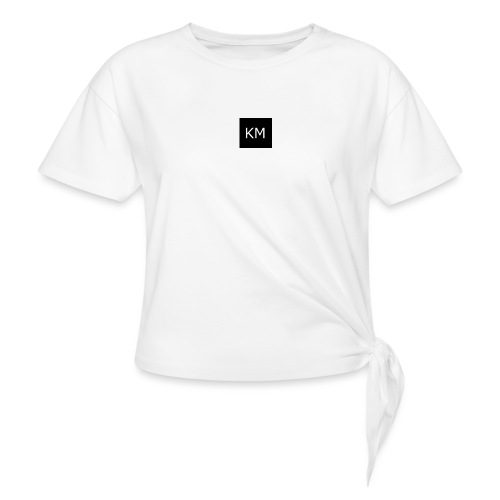 kenzie mee - Knotted T-Shirt