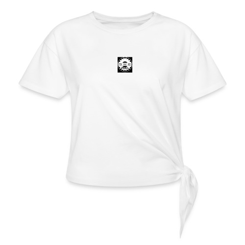 swe_man_loggo-png - T-shirt med knut dam