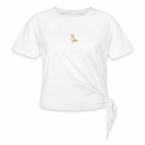 Akita Yuki Logo - Knotted T-Shirt