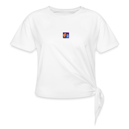 The flame - Knotted T-Shirt
