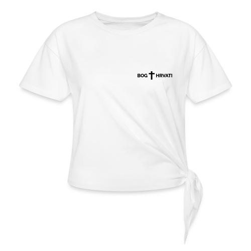 BOG I HRVATI - Knotted T-Shirt