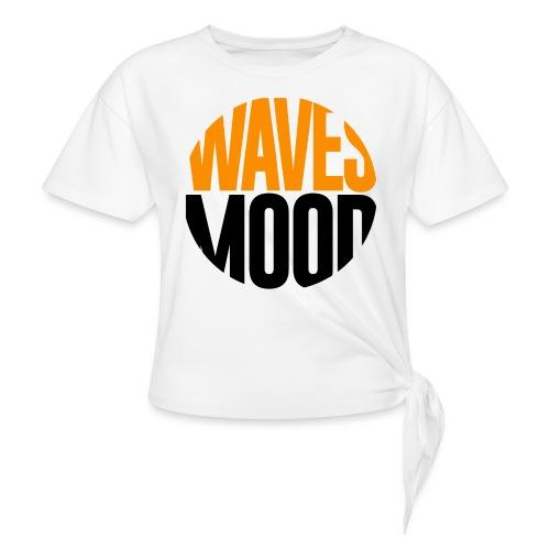 WAVES - Waves Mood - Maglietta annodata da donna
