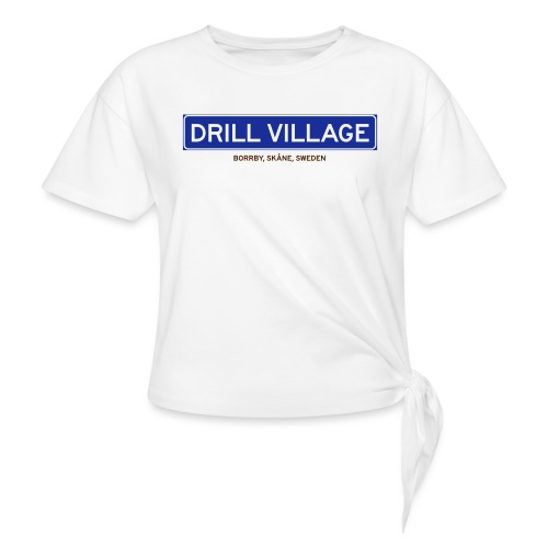 Borrby, Badly Translated - T-shirt med knut dam