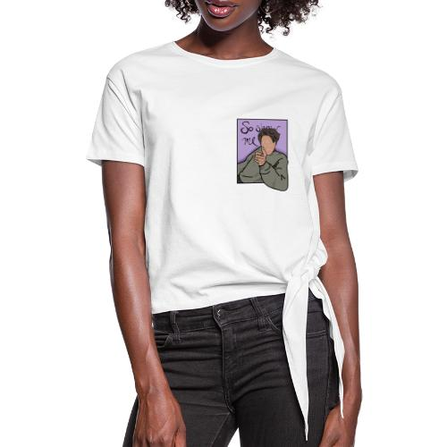 I'll Show You COLOR - Women's Knotted T-Shirt