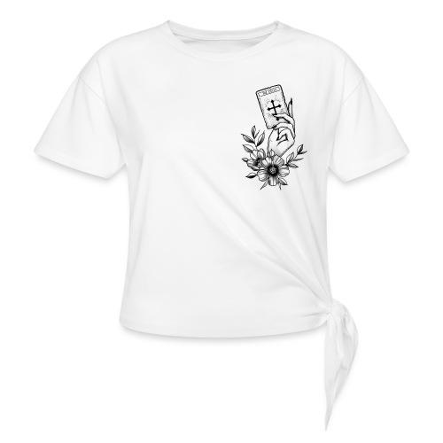 The Cross - Frauen Knotenshirt