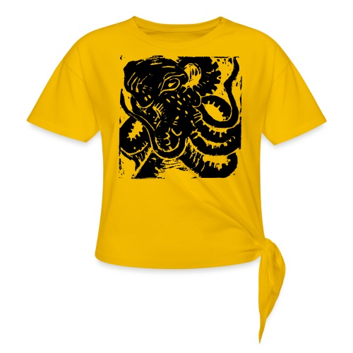 Museum Collection Octopus - Women's Knotted T-Shirt