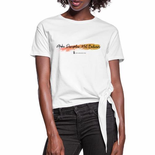 King Disciples - T-shirt à nœud