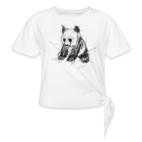 Scribblepanda - Knotted T-Shirt