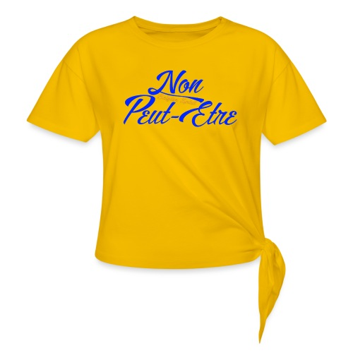 BELGIAN-NONPEUTETRE - T-shirt à nœud