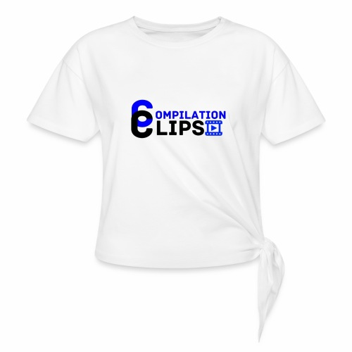 Official CompilationClips - Knotted T-Shirt