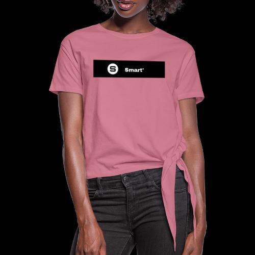 Smart' BOLD - Knotted T-Shirt