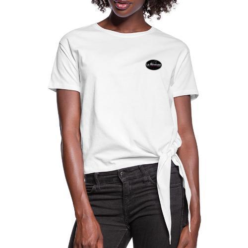la reveuse - T-shirt à nœud Femme