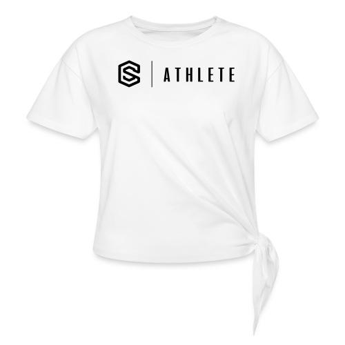 scathlete - T-shirt med knut dam