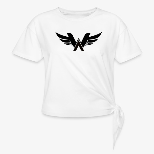 T-Shirt Logo Wellium - T-shirt à nœud Femme