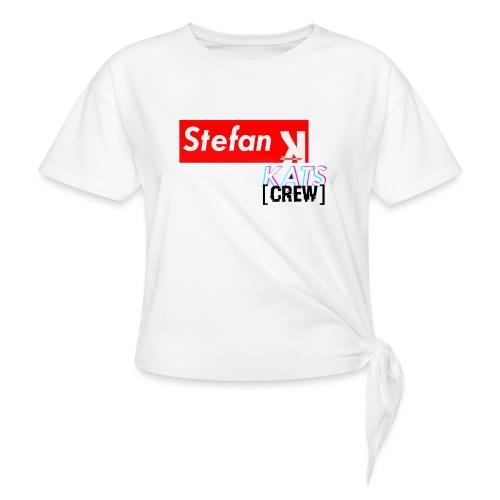 Stefan Sup - Koszulka damska z wiązaniem
