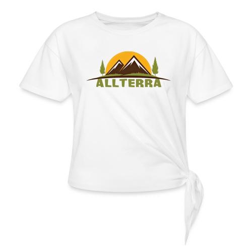 camiseta básica Alterra - Camiseta con nudo mujer