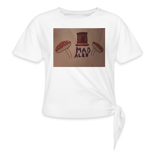 Mad Alex Logo - Knotted T-Shirt