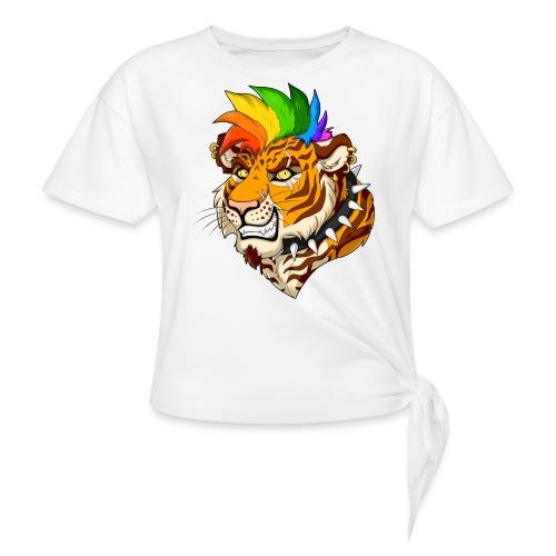 Punk Tiger - Koszulka z wiązaniem