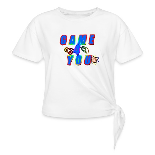 Game4You - Knotted T-Shirt