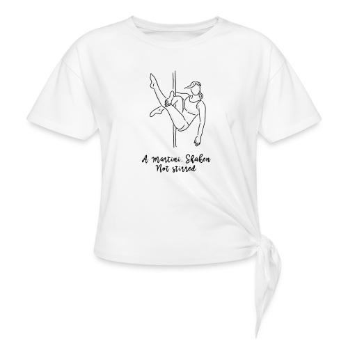 A perfect Martini - Camiseta con nudo mujer