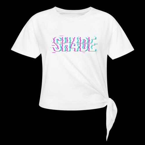 SH4DE. - Women's Knotted T-Shirt