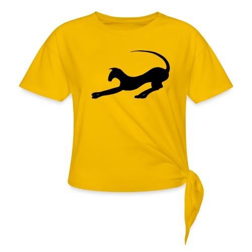 Silluett 2 - T-shirt med knut dam
