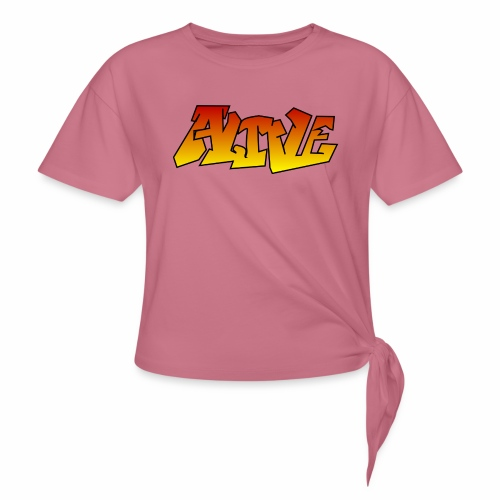 ALIVE CGI - Women's Knotted T-Shirt