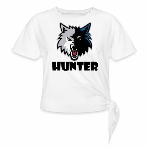 Hunter T-schirt - Vrouwen Geknoopt shirt