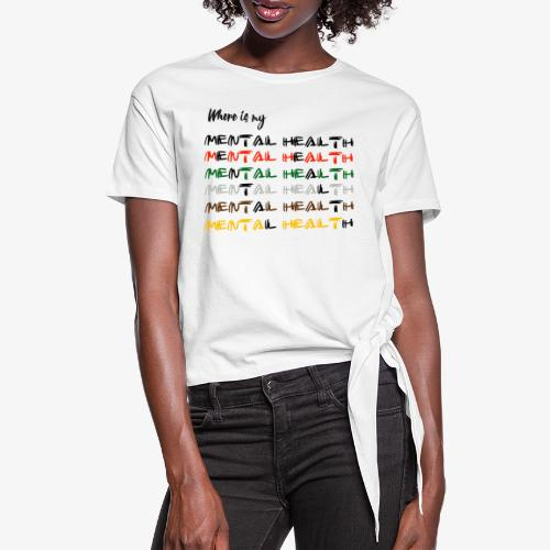Where is my...? - Knotted T-Shirt