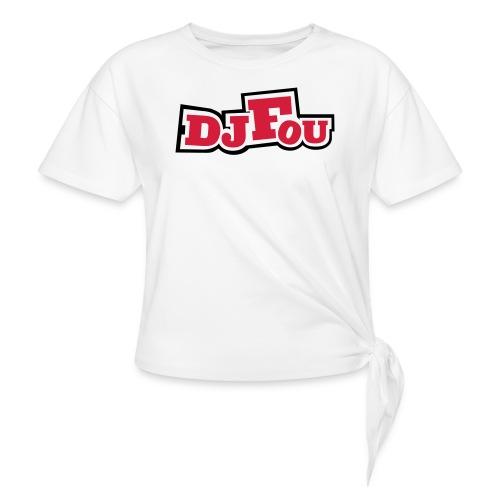 logofou - T-shirt à nœud