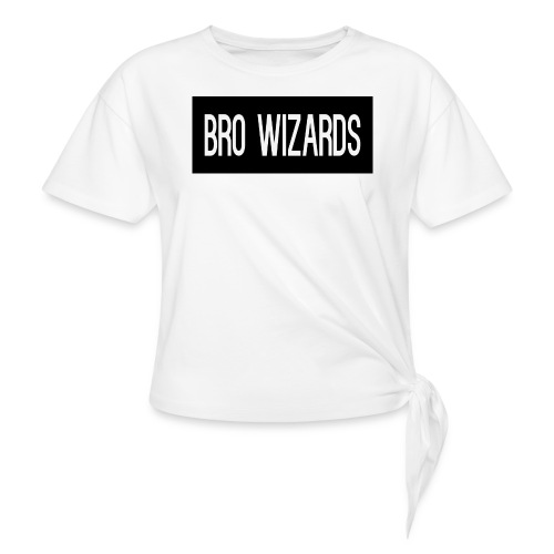 Browizardshoodie - Knotted T-Shirt