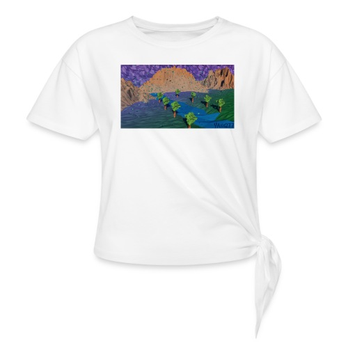 Silent river - Knotted T-Shirt