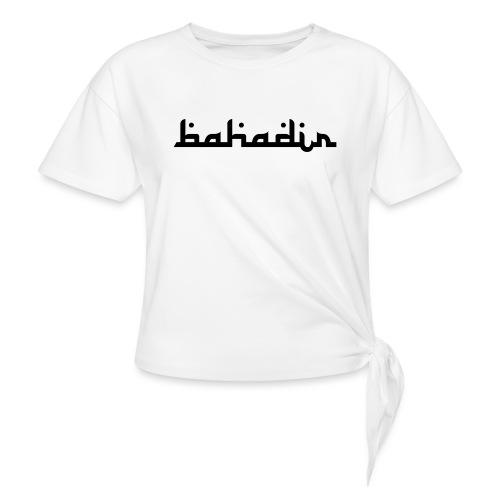 bahadir logo1 png - Knotenshirt