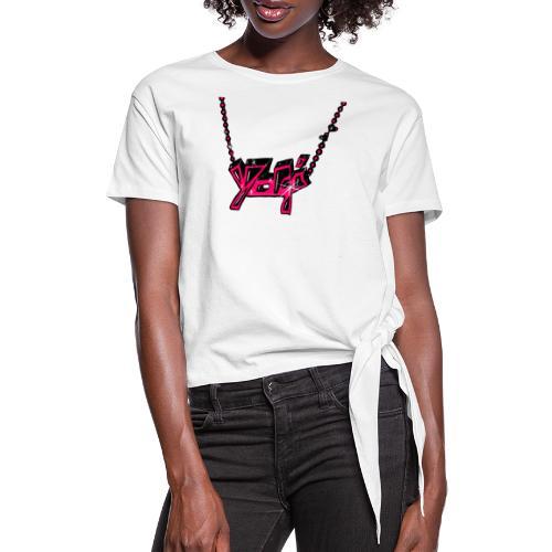 yogitshirt - Frauen Knotenshirt