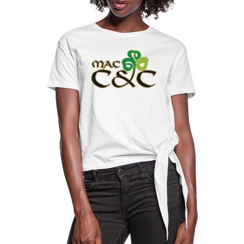 MacC&C Logo - Frauen Knotenshirt