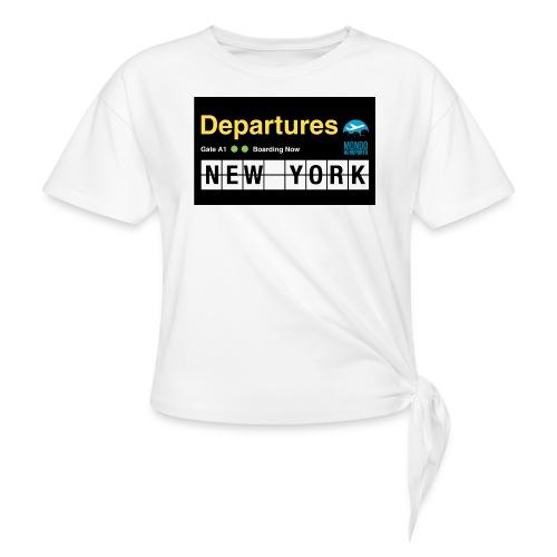 Departures Defnobarre 1 png - Maglietta annodata