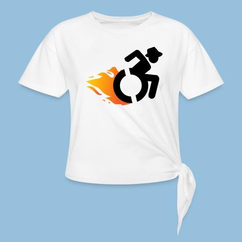 Roller met vlammen 016 - Geknoopt shirt