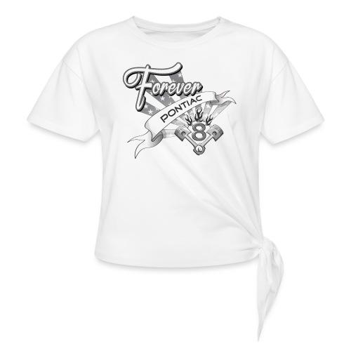 Forever V8 - T-shirt med knut dam