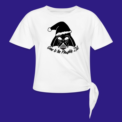 Vader's List - Women's Knotted T-Shirt