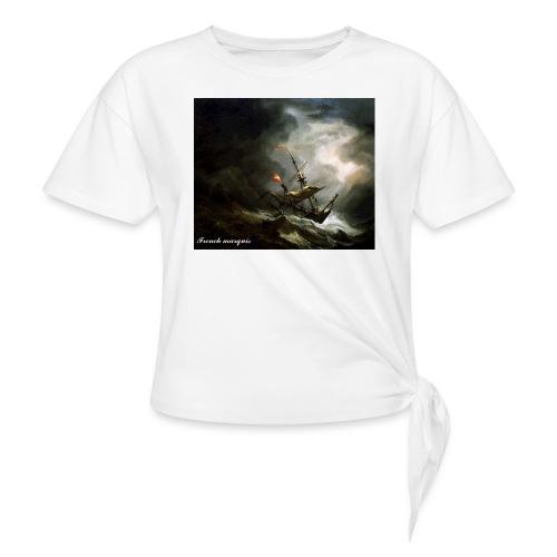 T-shirt French marquis Storm - T-shirt à nœud Femme