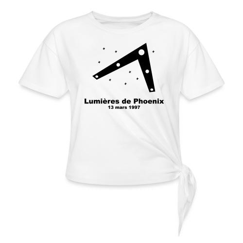 OVNI Lumieres de Phoenix - T-shirt à nœud