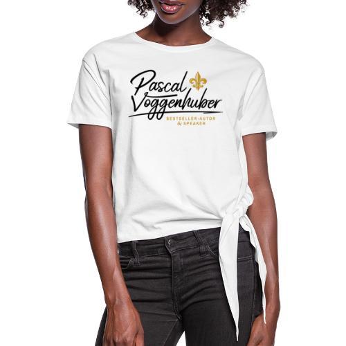 Pascal Voggenhuber Autor & Speaker - Frauen Knotenshirt