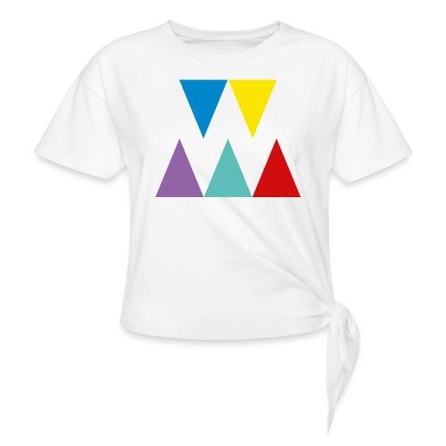 Logo We are les filles - T-shirt à nœud Femme