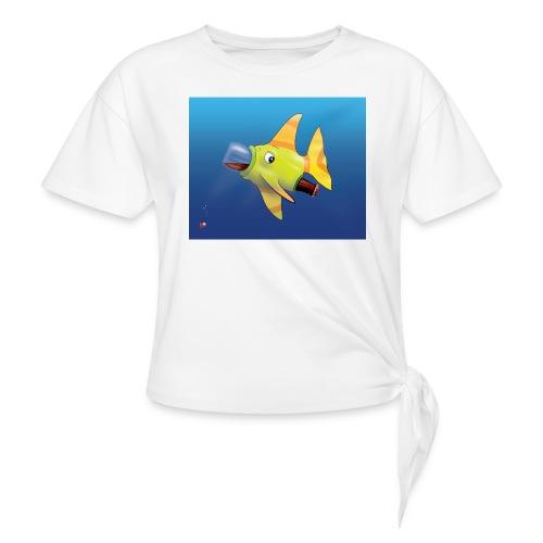 Greedy Fish - T-shirt à nœud