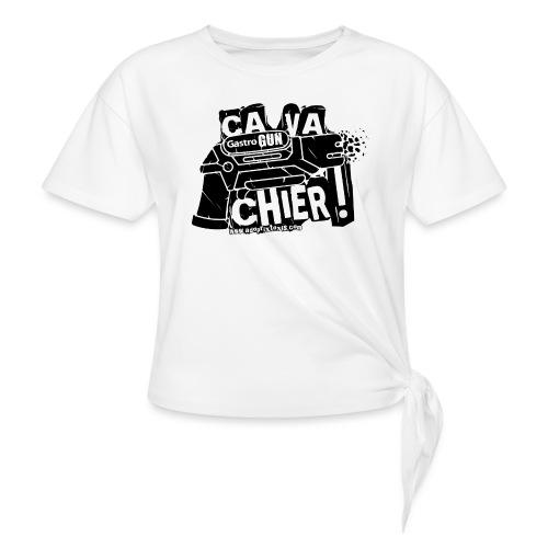 gastrogun - T-shirt à nœud