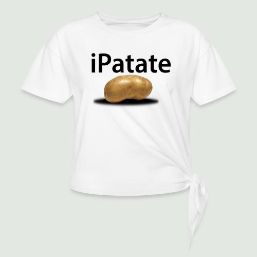 iPatate - T-shirt à nœud