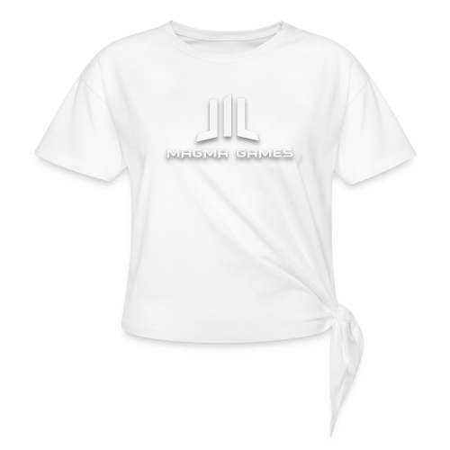 Magma Games t-shirt - Vrouwen Geknoopt shirt