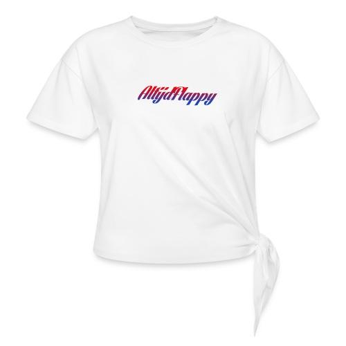 T-shirt AltijdFlappy - Vrouwen Geknoopt shirt
