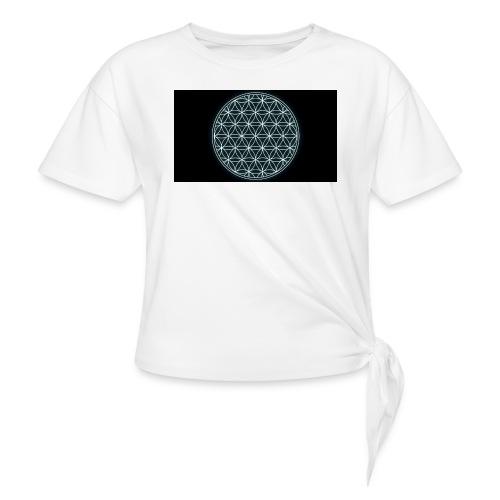 flower of life - Geknoopt shirt